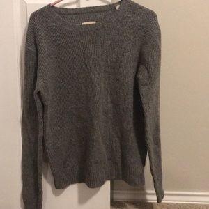 Gray sweater size medium